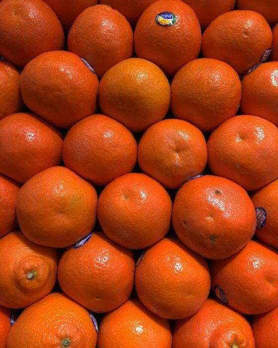 naranjas ordenadas