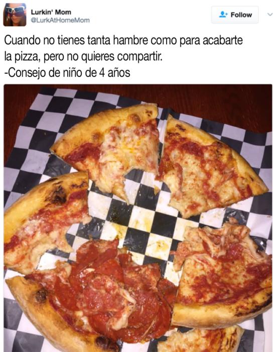 pizza mordida
