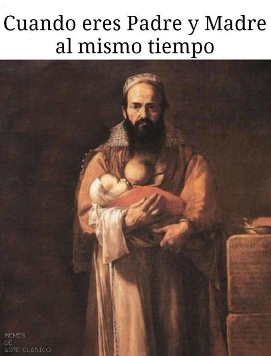 meme ser padre y madre a la vez