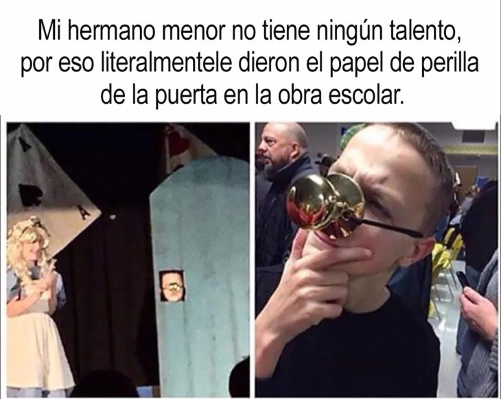 chico que interpretó a una perilla