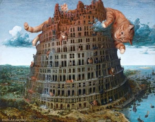 la torre de babel Pieter Brueghel el Viejo, 1563