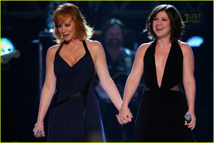 reba McEntire y Kelly Clarkson
