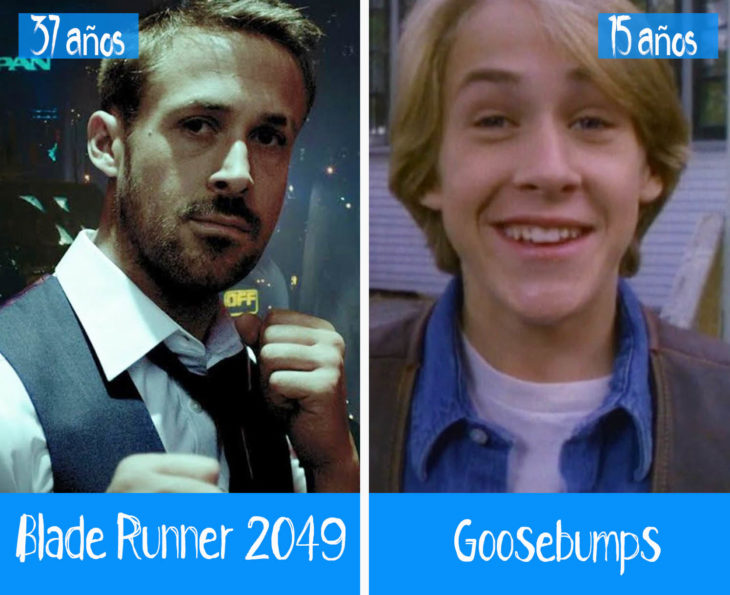 Ryan Gosling en su primer y último papel