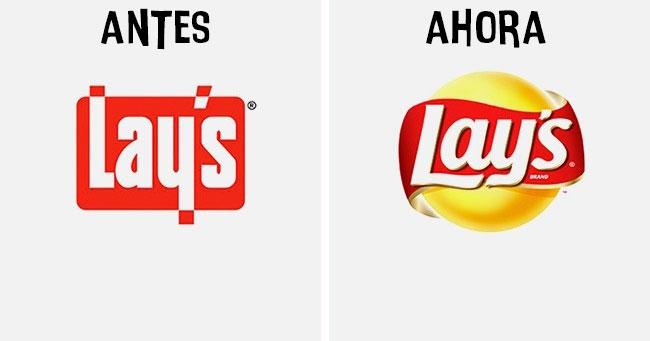 sabritas Cómo han cambiado los logotipos más famosos antes y después