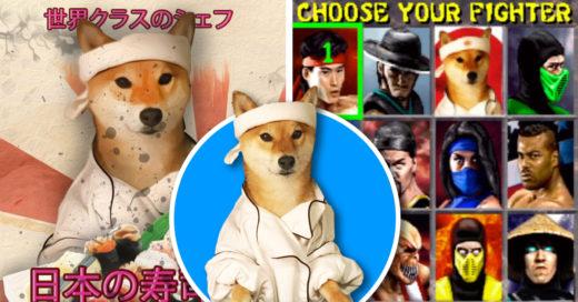 Cover Perro Shiba Inu desata contienda en Photoshop