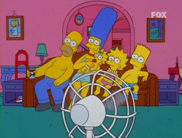 Simpson calor ventilador