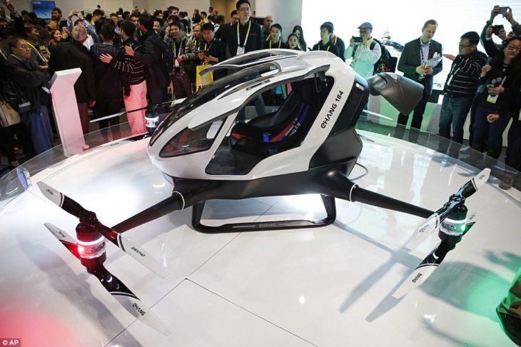 taxi drone en dubai