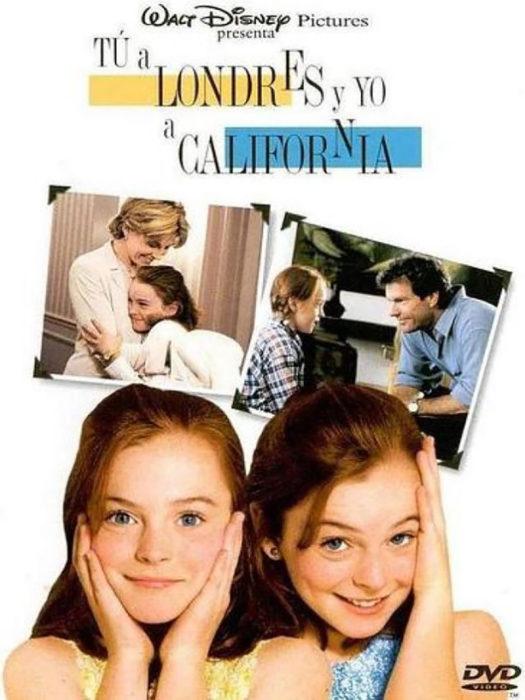 póster de la película Tú a Londres y yo a California