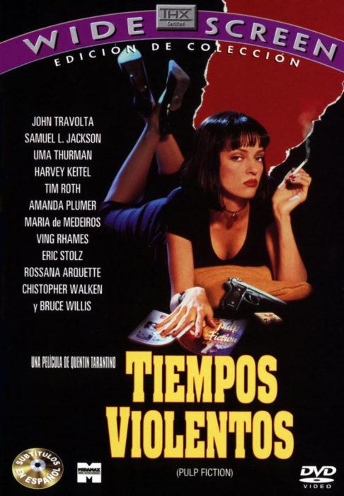 póster de la película tiempos violentos
