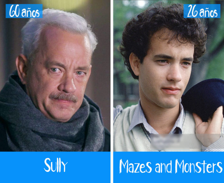 tom hanks en su primer y último papel