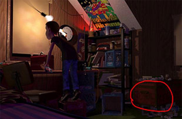 toy story sid habitación