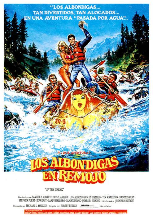 póster de la película Las albóndigas en remojo