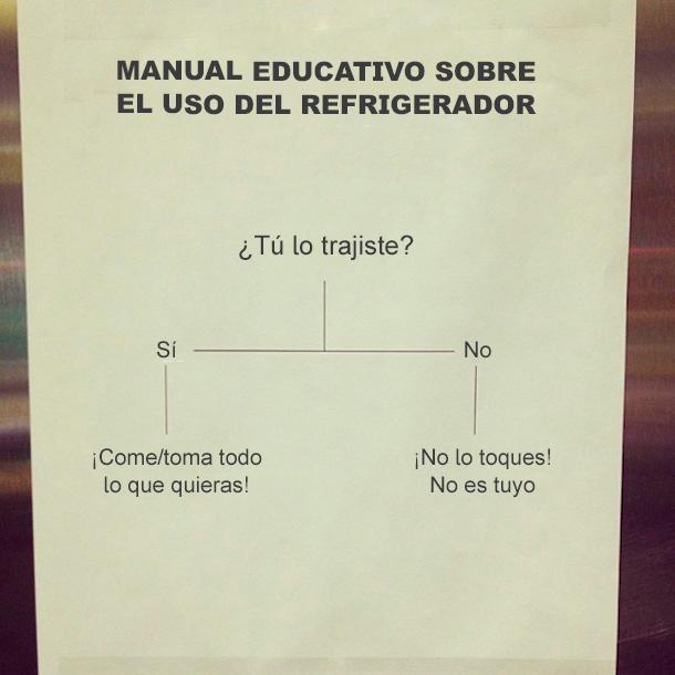 manual educativo uso refrigerador