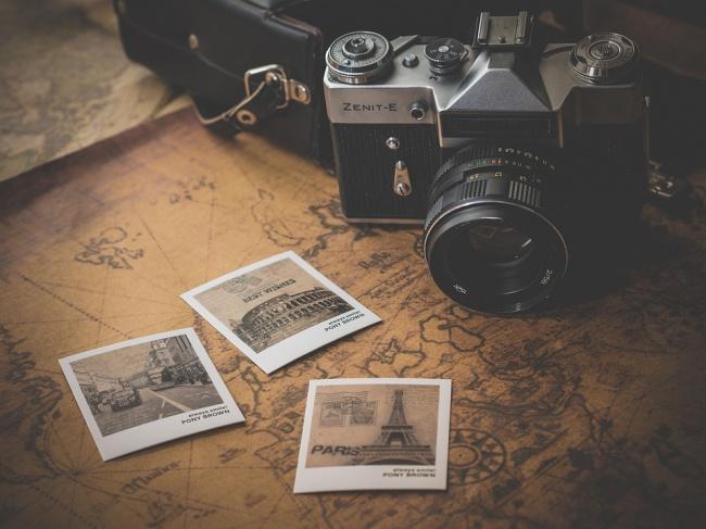 fotografías cámara antigua