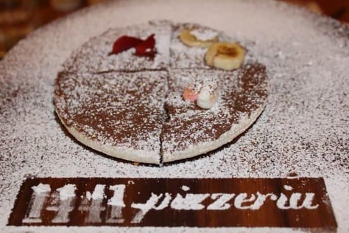 15 pizzas locas Nutella