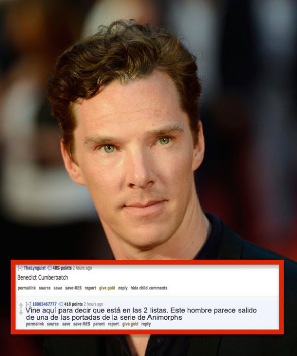 9 celebs sexies o no Benedict