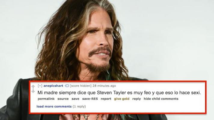 9 celebs sexies o no Steven Tyler