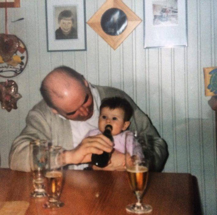 abuelo nieto cerveza