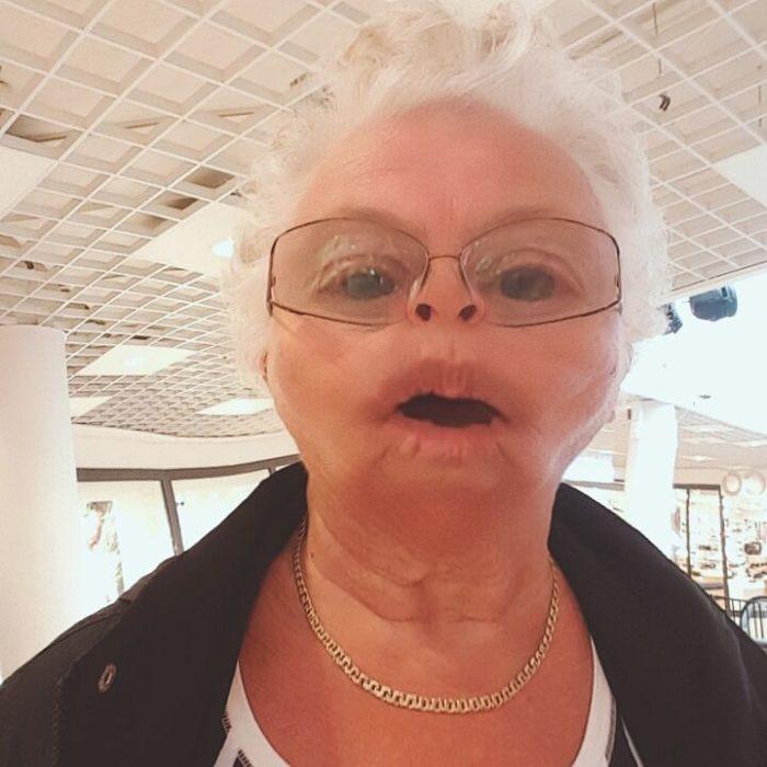 abuelita filtro snapchat