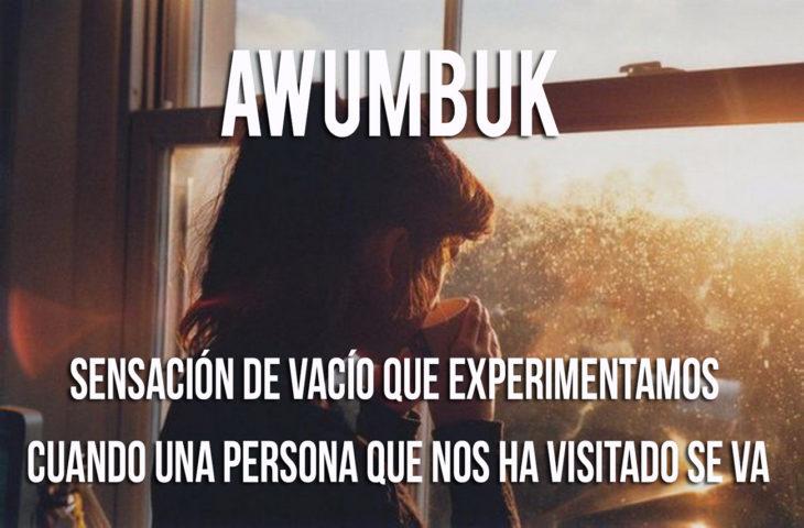 imágen sobre lo que significa la palabra Awumbuk