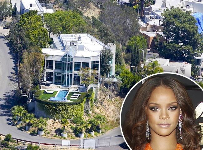 Rihanna en Beverly Hills