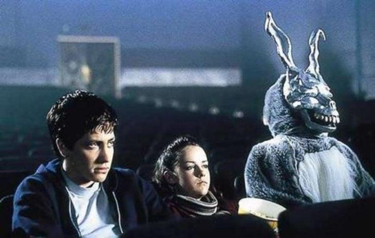 donnie darko conejo cine conejo de pascua terrorífico vintage