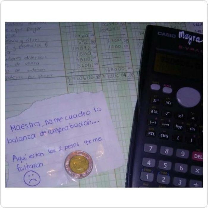 Cosas estudiante - los 2 pesos que faltaron