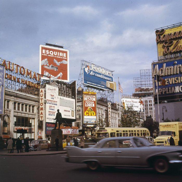 nueva york en los 60's