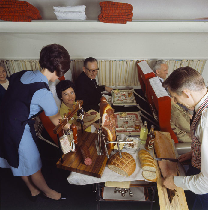 vuelo en los 60's