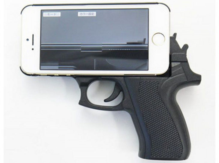 carcasa iphone pistola
