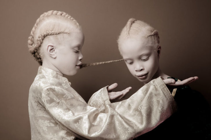 niñas muy blancas modelos
