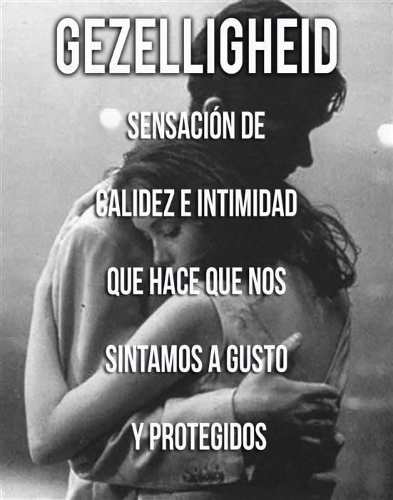 imagen del significado de la palabra Gezelligheid