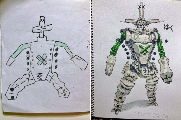 ilustracion papá-hijo 12