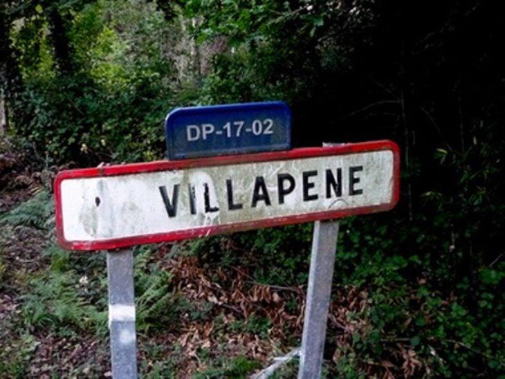 Lugares con nombres graciosos - villapene