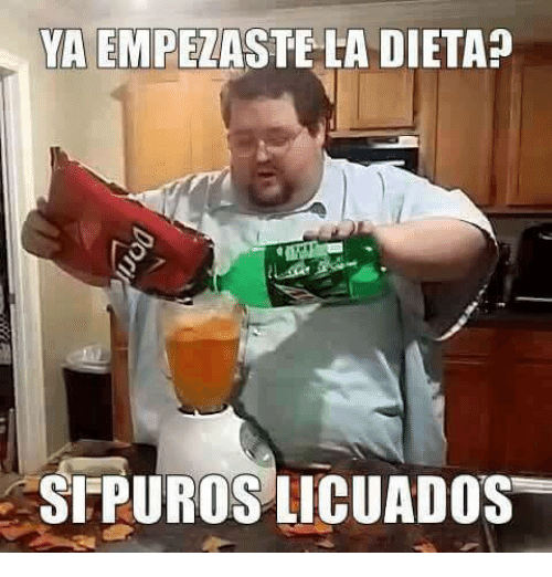Meme dieta - licuados dieta