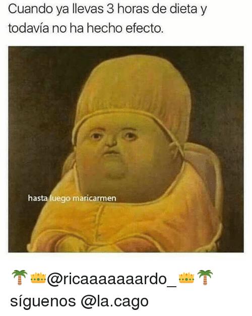 Meme dieta - 3 horas dieta
