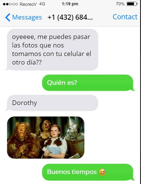 Mensajes equivocados - dorothy mago de oz