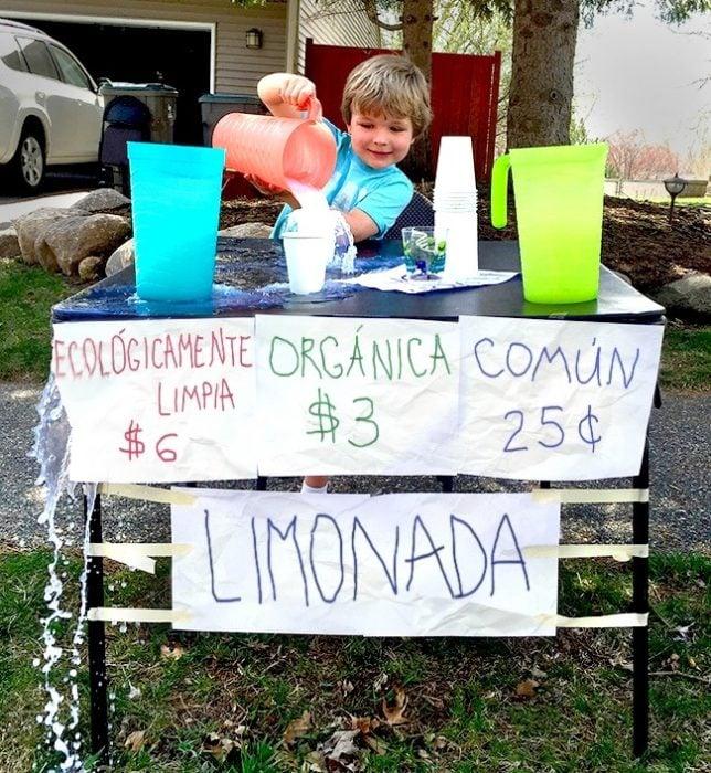 cosas de niños - limonada organica