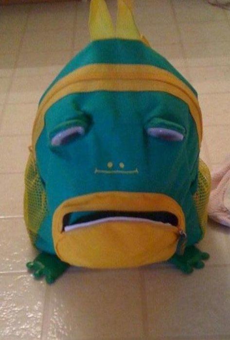 mochila triste