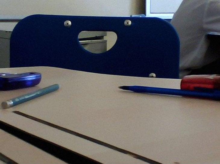 silla de escuela