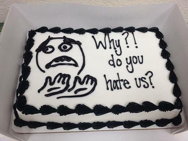 por qué nos odias pastel