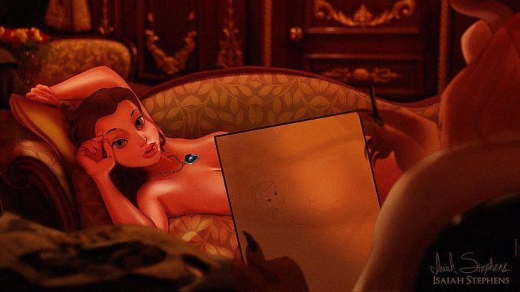 bella desnuda escena titanic