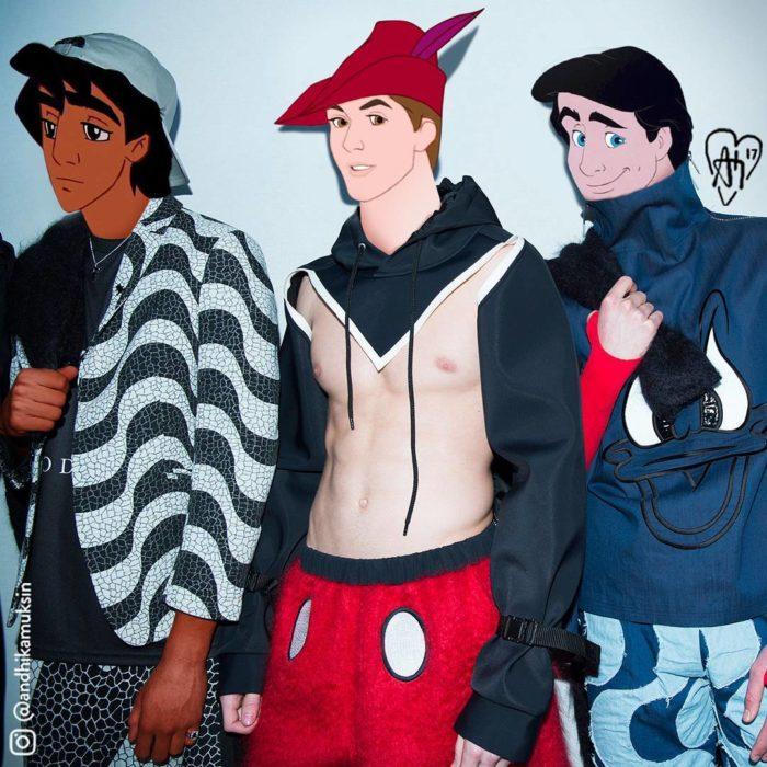 Aladdín, Eric y Phillip foto