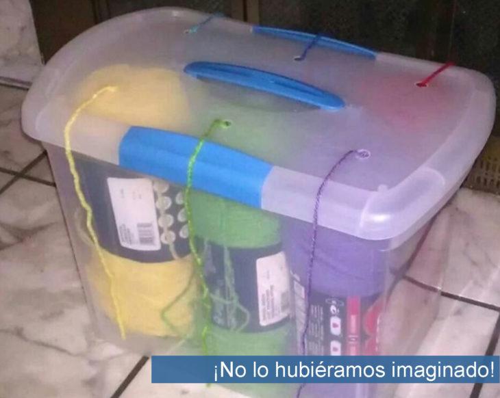 Reusar cajas 5