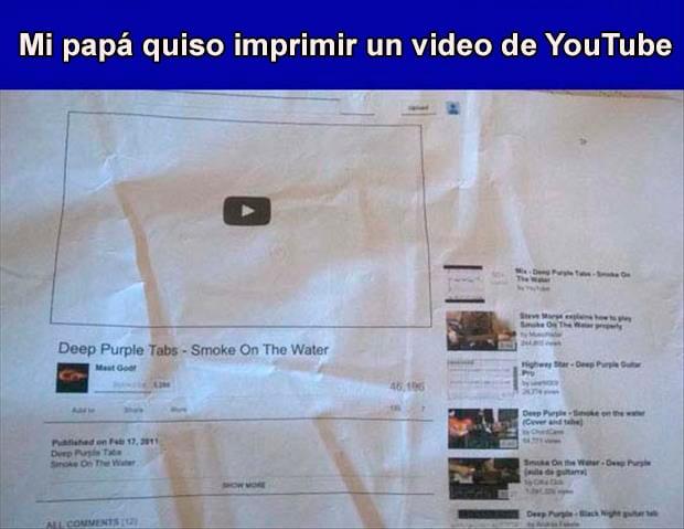 Abuelos vs tecnología -imprimió video