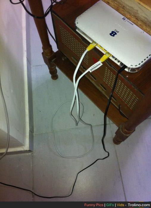 Abuelos vs tecnología - wifi conectado mal
