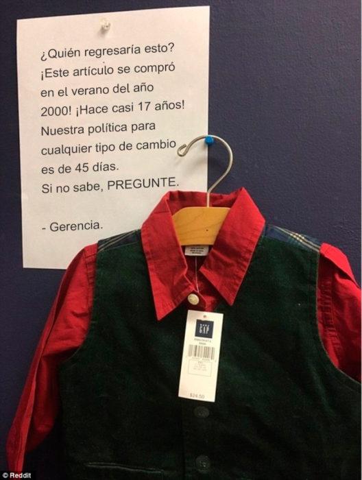 Errores -regresan ropa del 2000