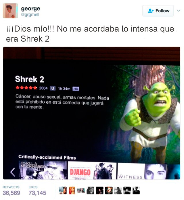 Errores - shrek 2 intensa