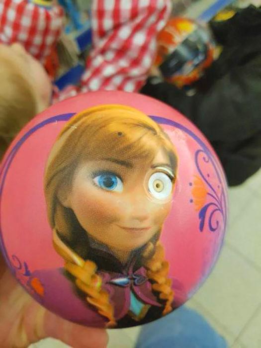 balón de anna de frozen