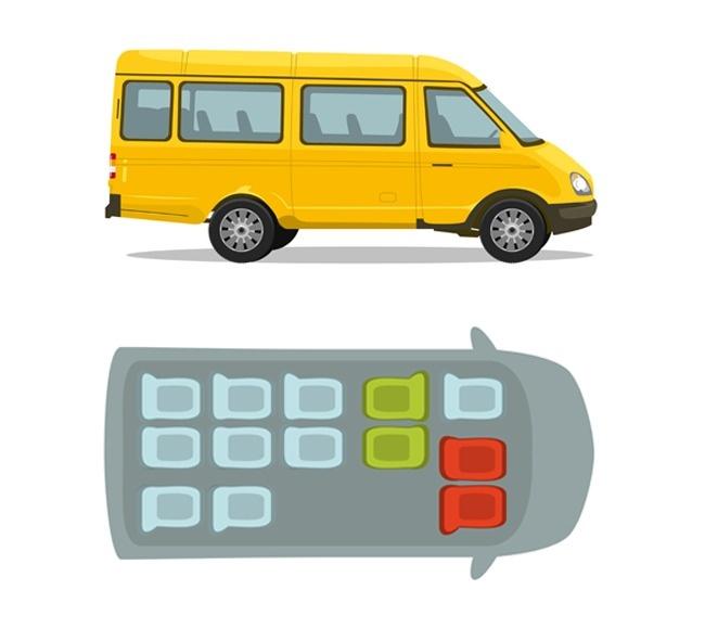 vagoneta taxi de ruta